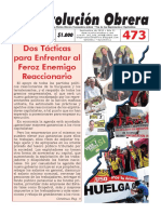 Periódico Revolución Obrera No. 473