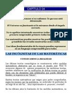 4. Las Incognitas de Las Matematicas
