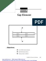 Msc Patran Gap Elements