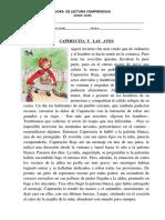 HORA  DE LECTURA COMPRENSIVA caperusita.docx