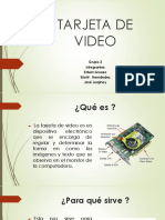 TARJETAS DE VIDEO
