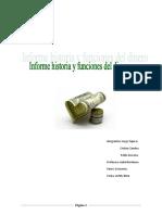 Informe Disertacion Dinero