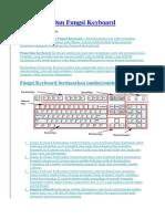 Pengertian Dan Fungsi Keyboard Tik
