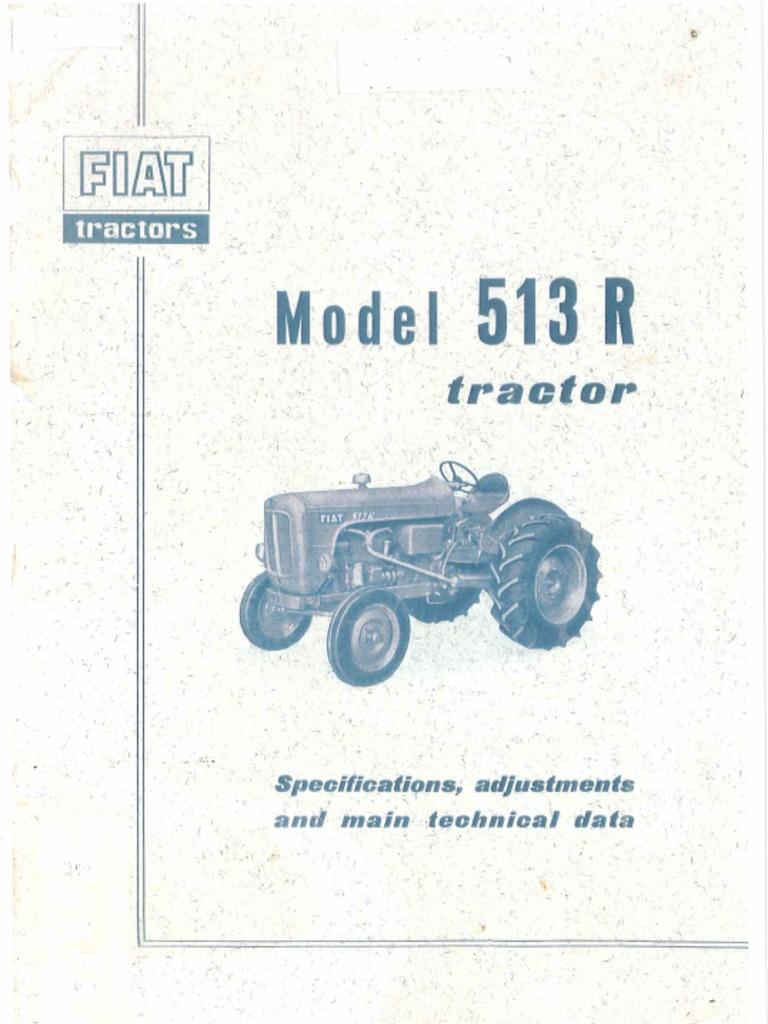 Fiat 513r Workshop Manual International B275 Wiring Diagram