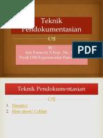 teknik-pendokumentasian.ppt