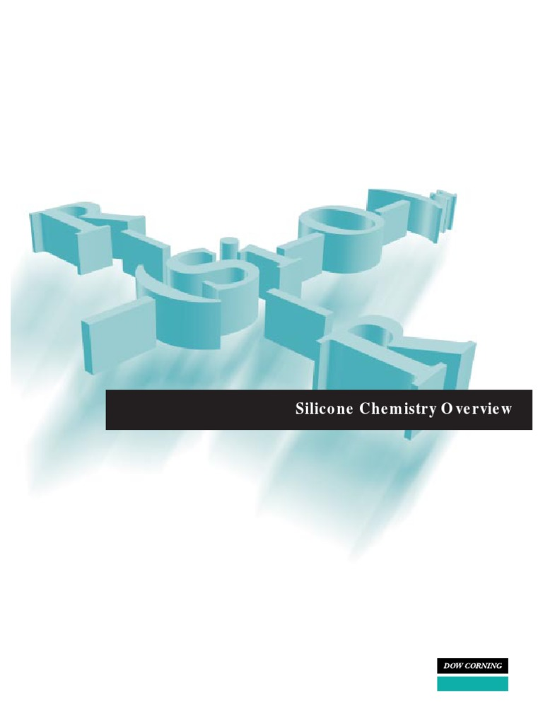 Silicone-Chemistry-Overview-(Dow-Corning) pdf | Silicon