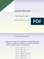 Clasificacion ED