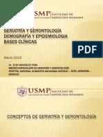 Clase geriatria