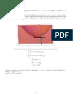 Volumenes con integrales triples y dobles