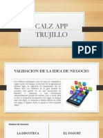 Idea de negocio Calz App Trujillo