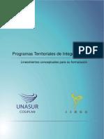 Programas Territoriales de Integracion PTI - Guia Metodológica