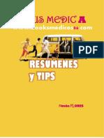 RESÚMENES Y TIPS PARA RESIDENTADO MEDICO  2018