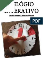 Relógio Interativo - Materiais Pedagógicos