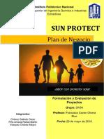 PROYECTO DE PRODUCCION DE JABON DE BAÑO CON PROTECTOR SOLAR
