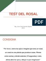 Ppt Test Del Rosal