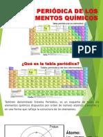 Diapositivas - Tabla Periódica