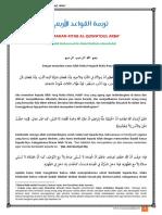 Terjemahan Al-Qowa'Idul Arba'