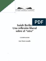 00051-00 - Isaiah Berlin Una Reflexion Liberal Sobre El Otro