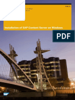 Installation of SAP Content Server DMS on Windows.pdf