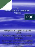 16 Dad Gloria Al Unigido Th 224 himnos