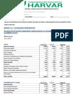 Examen Segunda Unidad Analisis e Interpretacion de Ratios
