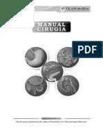 Manual Cirugia Qx Medicina 2018