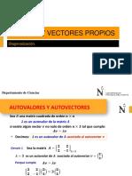 MB5 Valores y Vectores Propios