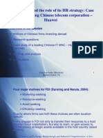 Case of Huwaii Technologies
