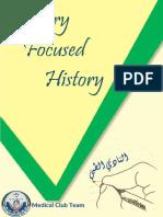 Internal Focused History - Medical Club