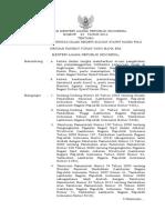 Peraturan Menteri Agama Republik Indonesia Nomor 23 Tahun 2014 TENTANG STATUTA UNIVERSITAS ISLAM NEGERI SULTAN SYARIF KASIM RIAU