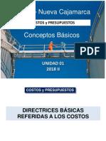 1 Clases UCSS Costos y Pptos.