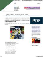 Warga Palem Asri Sukmajaya Bogor _ DAFTAR NOMOR TELEPON POLISI WILAYAH KABUPATEN BOGOR.pdf