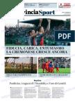 La Provincia Di Cremona 17-09-2018 - Sport