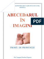 abecedar imagini pronuntie