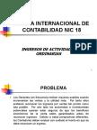 La NIC 18 y su relación con el impuesto a la renta - act contable.ppt