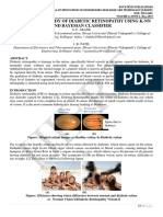 COMPARATIVE STUDY OF DIABETIC RETINOPATHY USING K-NN AND BAYESIAN CLASSIFIER