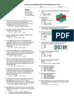 Math 8 4th PT
