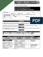 Ficha Evaluación de Desempeño Docente