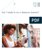 Am i Ready to Be a Distance Learner Printable