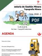 5ta Clase Topografia Minera_UPC