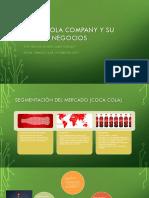 Coca Cola Company y Su Plan de Negocios