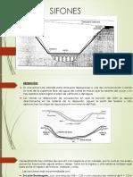 Sifones Estructuras Hidraulicas