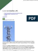 LTE_ la evolución a 4G