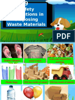 Lesson 9 Safety Precautions in Disposing Waste Materials.ppt