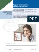 3.6 E Regular Las Emociones Entrenando La Mente Matematicas