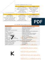 DAFTAR PIKET KEBERSIHAN KELAS VII B.doc