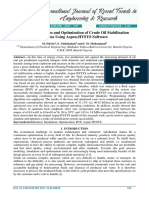 Lampiran Jurnal Process Simulation and Optimization of Crude Oil Stabilization Scheme Using Aspen Hysys Software Converted