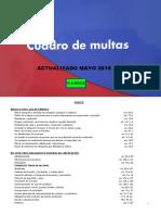 Cuadro Multas Ertzaintza Gv Mayo 2018