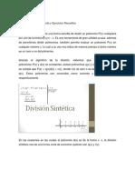 División Sintética