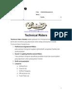 Technical Riders Cokelat